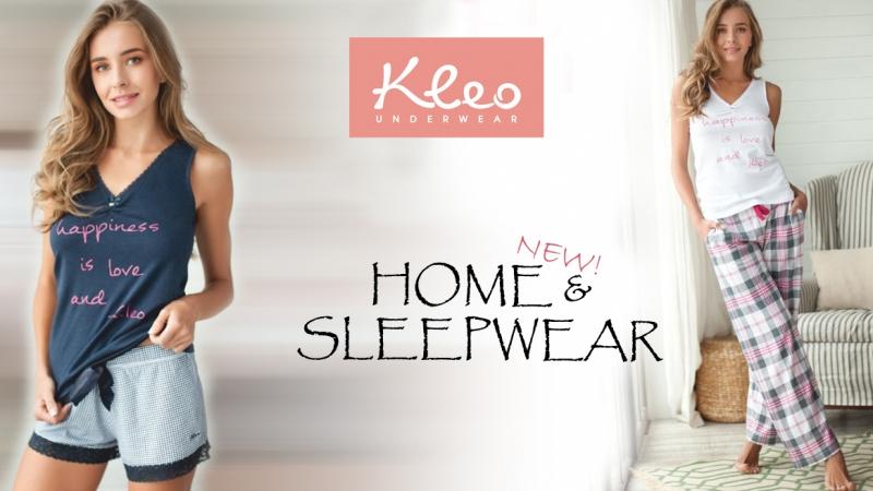 Новая коллекция домашней одежды Kleo