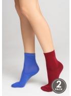 Носки женские хлопковые LEGS 21 SOCKS 21 (2ПАРИ)