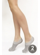 Носки женские хлопковые LEGS 8 SOCKS EXTRA LOW 8 (2 ПАРИ)