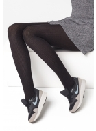 Колготки хлопковые LEGS L1129 COTONE RIB