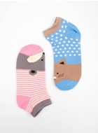Носки LEGS 34 SOCKS LOW 34 (2 ПАРИ)