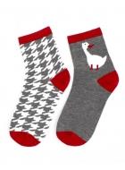 Носки женские хлопковые LEGS 39 SOCKS 39 (2 ПАРИ)