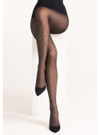 Колготки с рисунком LEGS L1404 POIS RETE TULLE