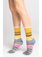 Носки женские хлопковые LEGS L1434 COTTON PRINT
