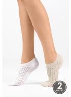 Носки женские хлопковые LEGS 9 SOCKS EXTRA LOW 9 (2 ПАРИ)