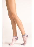 Носки женские с рисунком LEGS 63 SOCKS LOW 63 (3пари)