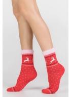 Носки женские теплые LEGS SA7 SOCKS ANGORA TERRY SA7