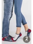 Носки унисекс из хлопка LEGS 82 SOCKS ACTIVE LOW 82 (2пари)