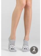 Носки женские с рисунком LEGS 12 SOCKS EXTRA LOW 12 (2пари)