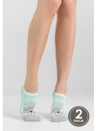 Носки женские с рисунком LEGS 14 SOCKS EXTRA LOW 14 (2пари)