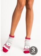 Носки женские хлопковые LEGS 89 SOCKS LOW 89 (3пари)