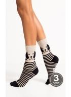 Носки женские хлопковые LEGS 91 SOCKS 91 (3пари)