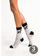 Носки женские хлопковые LEGS 94 SOCKS 94 (3пари)