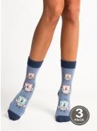 Носки женские хлопковые LEGS 95 SOCKS 95 (3пари)