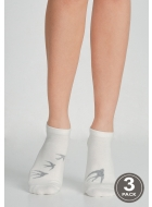 Носки женские хлопковые LEGS 96 SOCKS LOW 96 (3пари)