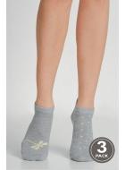 Носки женские хлопковые LEGS 97 SOCKS LOW 97 (3пари)