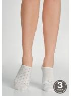 Носки женские хлопковые LEGS 79 SOCKS EXTRA LOW 79 (3пари)
