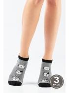 Носки женские хлопковые LEGS 103 SOCKS LOW 103 (3пари)