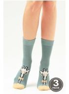 Носки женские хлопковые LEGS 99 SOCKS 99 (3пари)