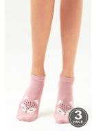 Носки женские хлопковые LEGS 105 SOCKS LOW 105 (3пари)