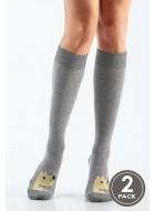 Гольфы женские хлопковые LEGS 106 KNEE HIGH 106 (2пари)