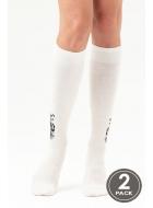 Гольфы женские хлопковые LEGS 107 KNEE HIGH 107 (2пари)