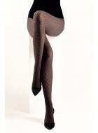 Колготки с рисунком LEGS L1809 SPIGA BICOLOR