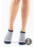 Носки унисекс из хлопка LEGS SLA SOCKS LOW ANCHOR (2пари)