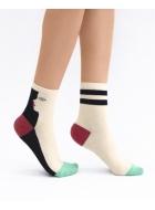 Шкарпетки жіночі бавовняні LEGS 24 SOCKS 24 (2 ПАРИ)
