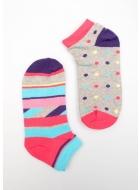 Шкарпетки жіночі бавовняні LEGS 40 SOCKS LOW 40 (2 ПАРИ)