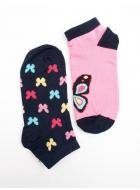 Шкарпетки жіночі бавовняні LEGS 45 SOCKS LOW 45 (2 ПАРИ)