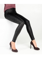 Легінси моделюючі LEGS L1344 LEGGINGS PUSH UP MAT LEATHER