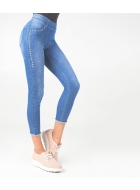 Джеггінси LEGS L1347 LEGGINGS DENIM