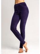 Легінси-брюки LEGS L1452 LEGGINGS VELVET RIB