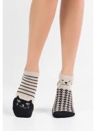 Шкарпетки жіночі бавовняні LEGS 66 SOCKS LOW 66 (3пари)