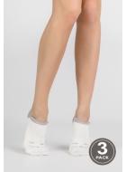 Шкарпетки жіночі бавовняні LEGS 77 SOCKS EXTRA LOW 77 (3пари)