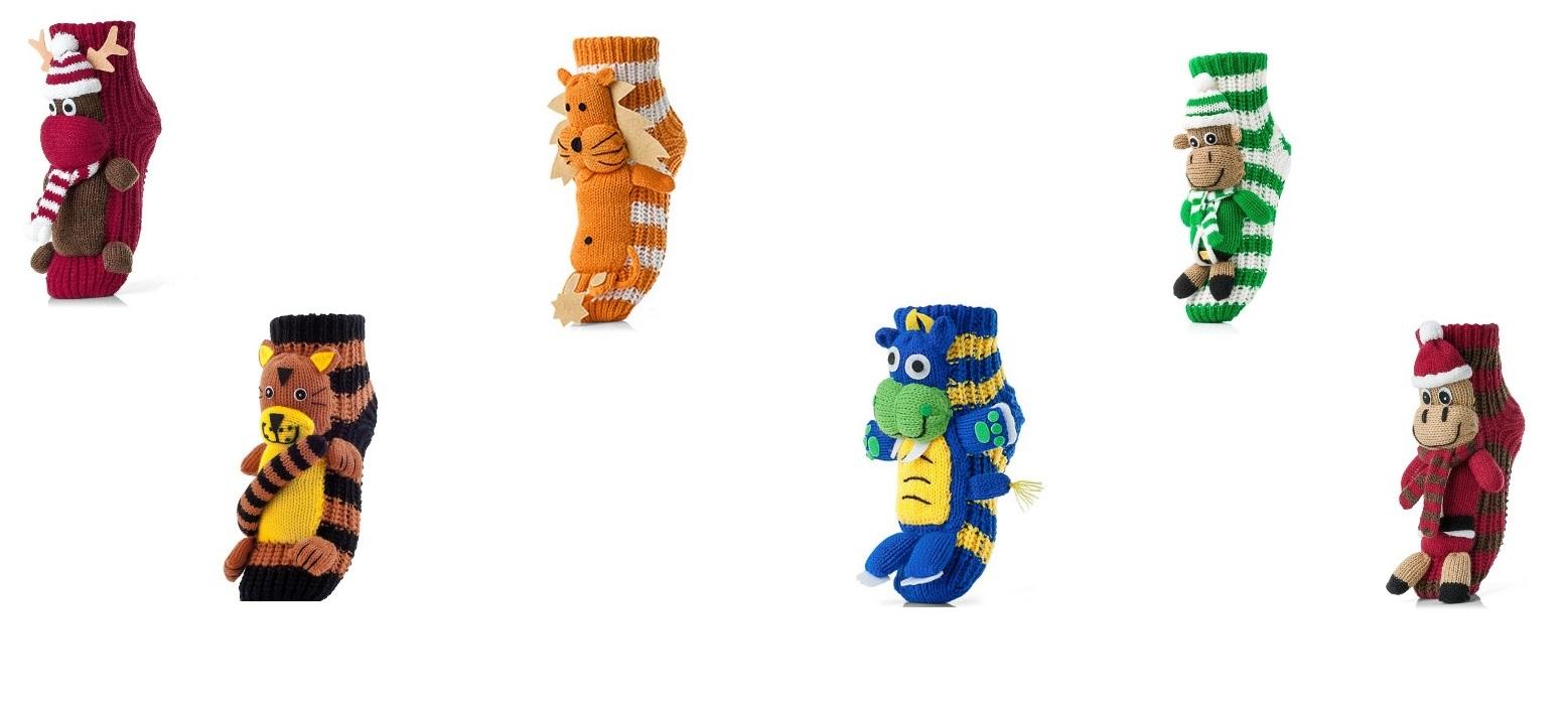 c4539a34f5e4c Бренд Mampol представил носки из акрила, и они необычайно теплые и  комфортные. Они прекрасно подойдут в качестве подарка, поскольку украшены  игрушечными ...